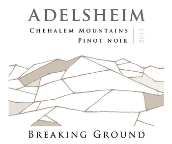 2015 Chehalem Mountains, Breaking Ground Pinot noir