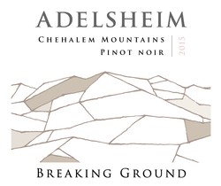 2015 Chehalem Mountains, Breaking Ground Pinot noir Image